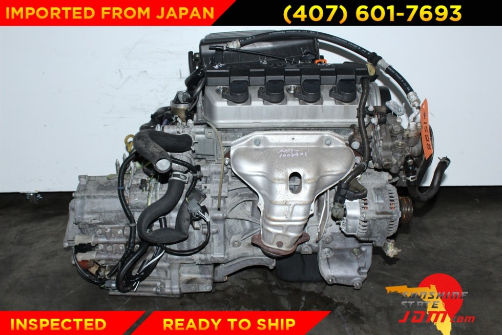 jdm d17a vtec engine d17a2 honda civic ex lx 2001 2002. Black Bedroom Furniture Sets. Home Design Ideas